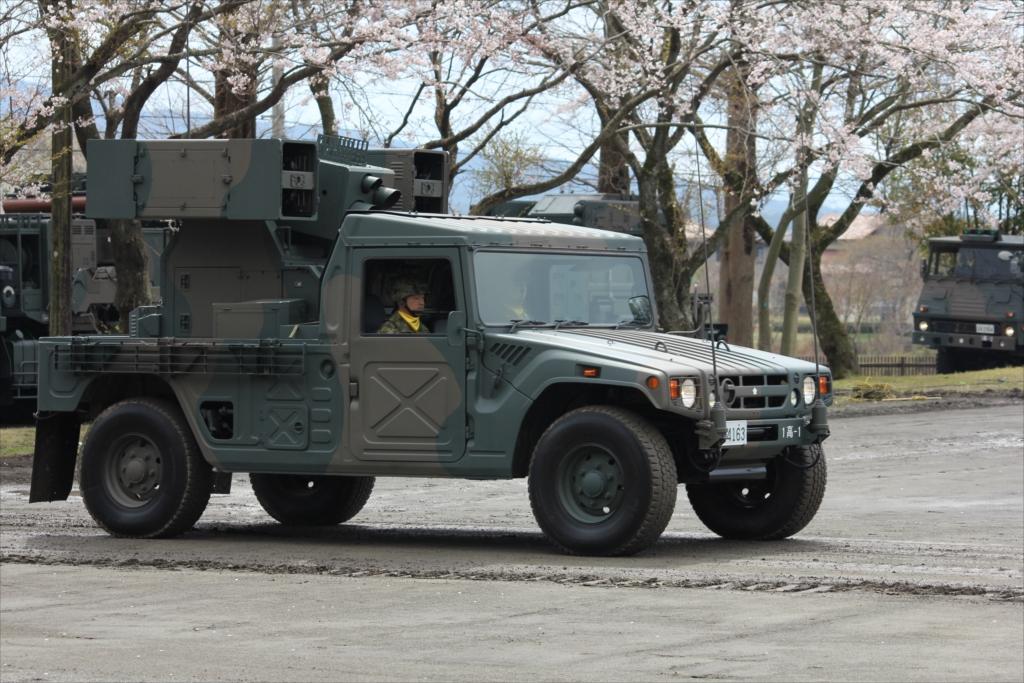 車に搭載した93式近距離地対空誘導弾、通称「SAM」_2