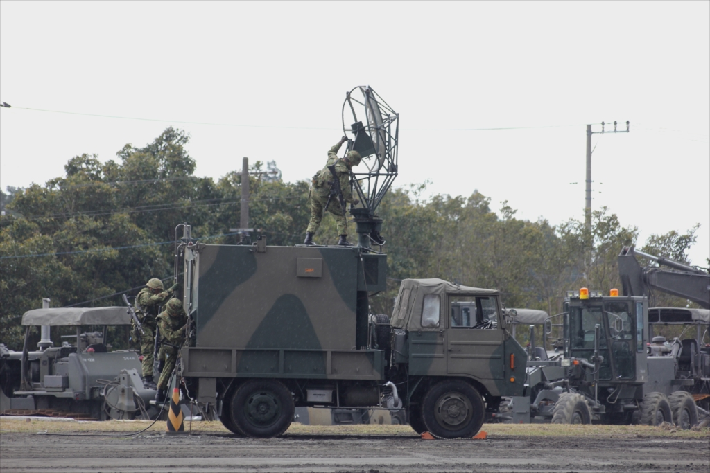 79式対空レーダー装置 JTPS-P9_9