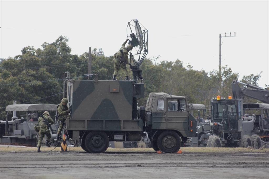 79式対空レーダー装置 JTPS-P9_10