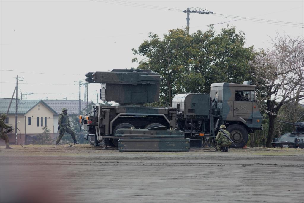 81式短距離地対空誘導弾(C)と発射装置搭載車両_4