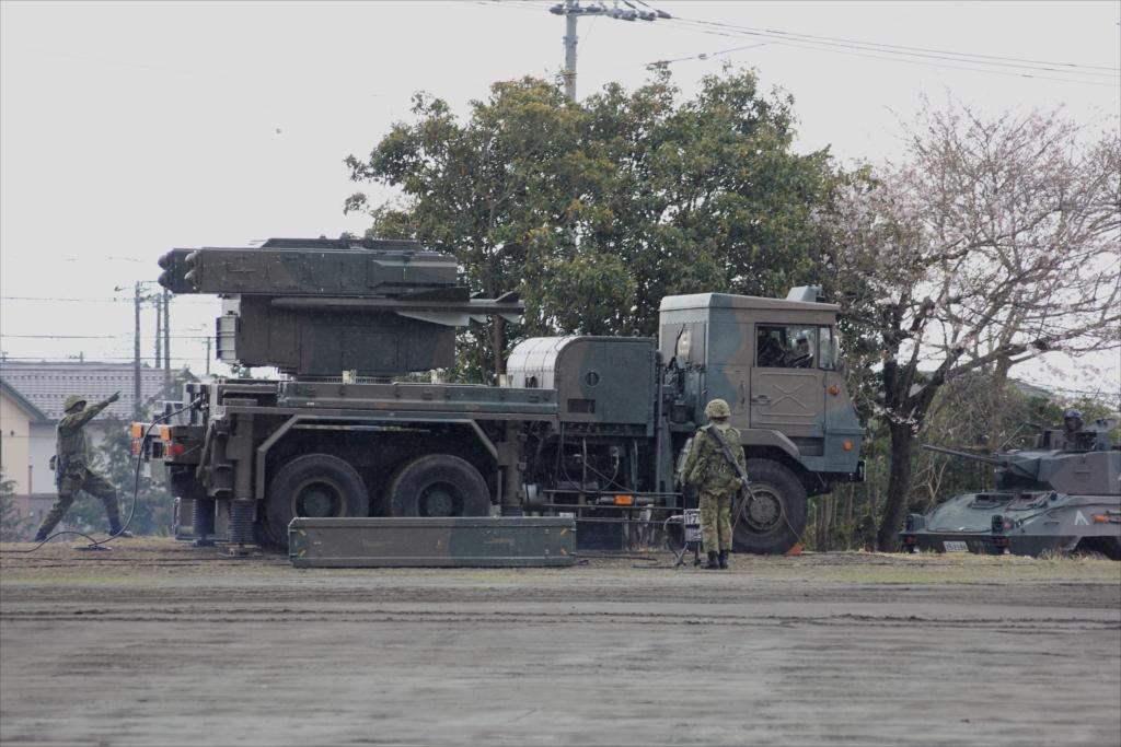 81式短距離地対空誘導弾(C)と発射装置搭載車両_7