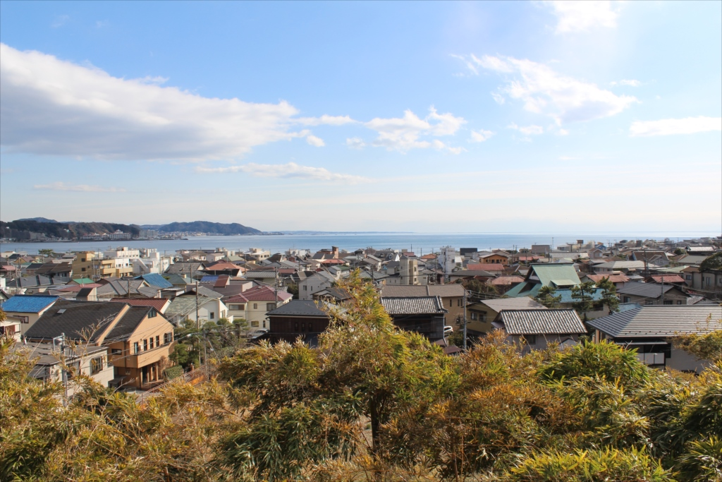 見晴台からの海の眺望_1