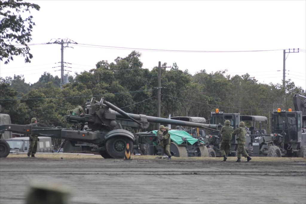 155mmりゅう弾砲 FH70_5