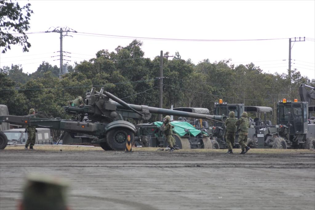 155mmりゅう弾砲 FH70_6
