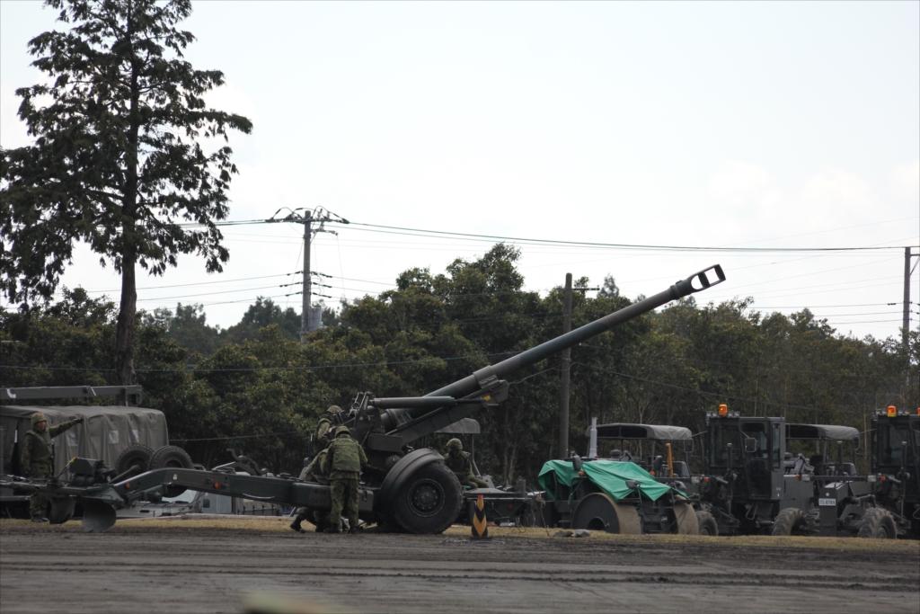 155mmりゅう弾砲 FH70_12