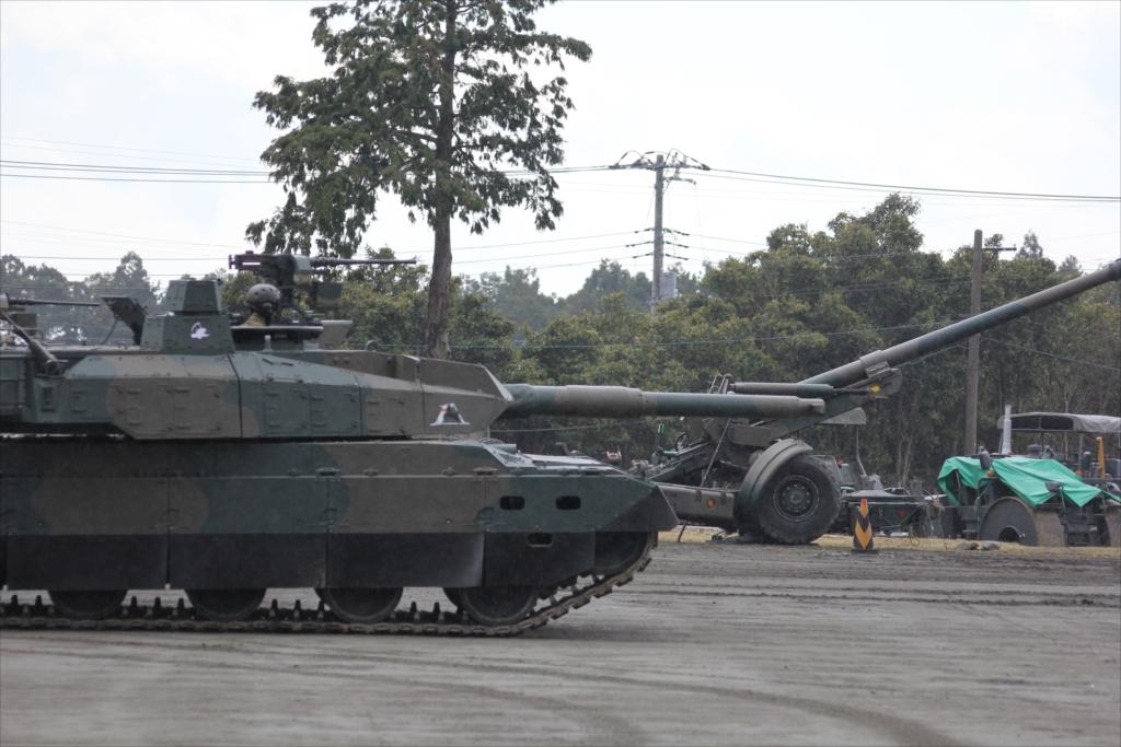74式戦車や90式戦車の投入_8