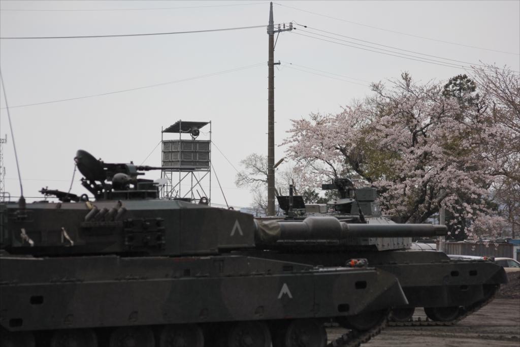 74式戦車や90式戦車の投入_12