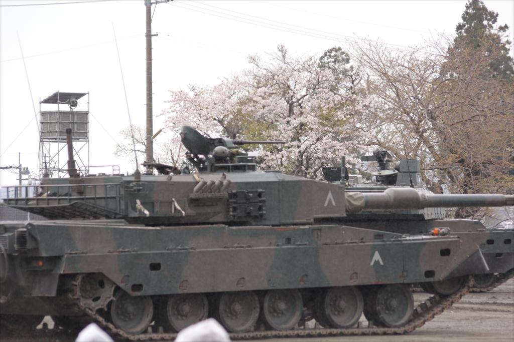 74式戦車や90式戦車の投入_14