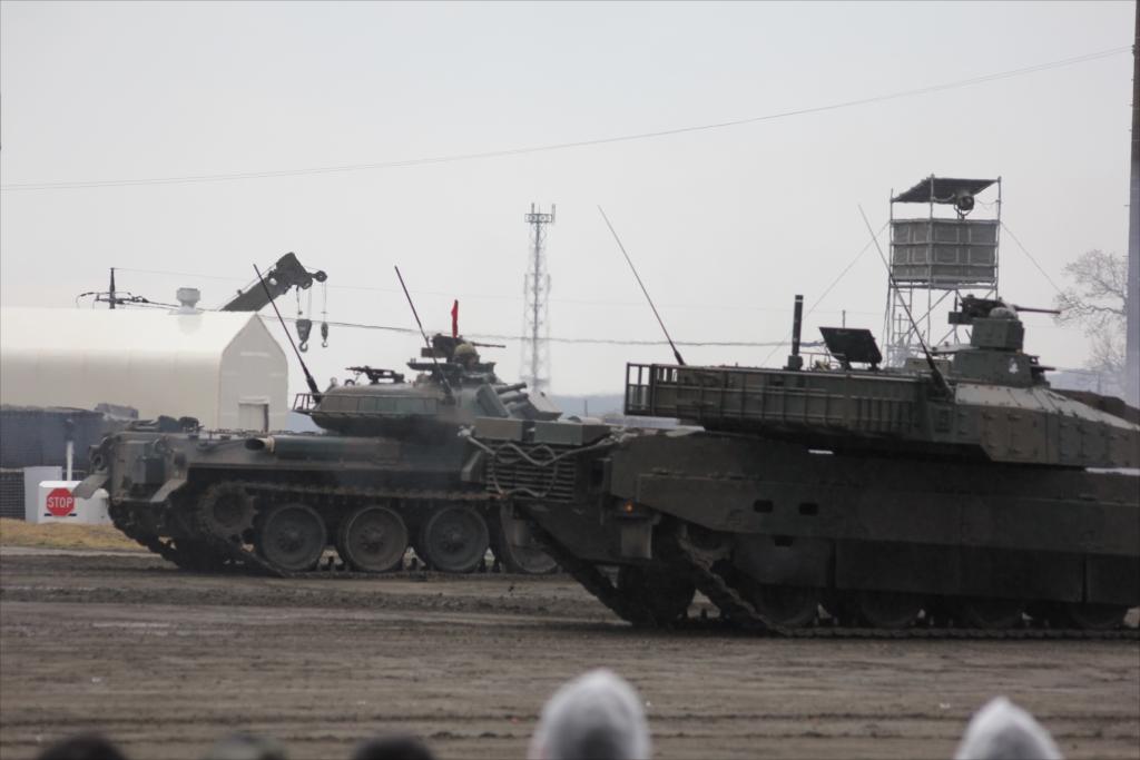 74式戦車や90式戦車の投入_22