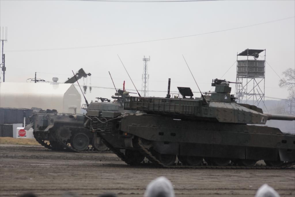 74式戦車や90式戦車の投入_23