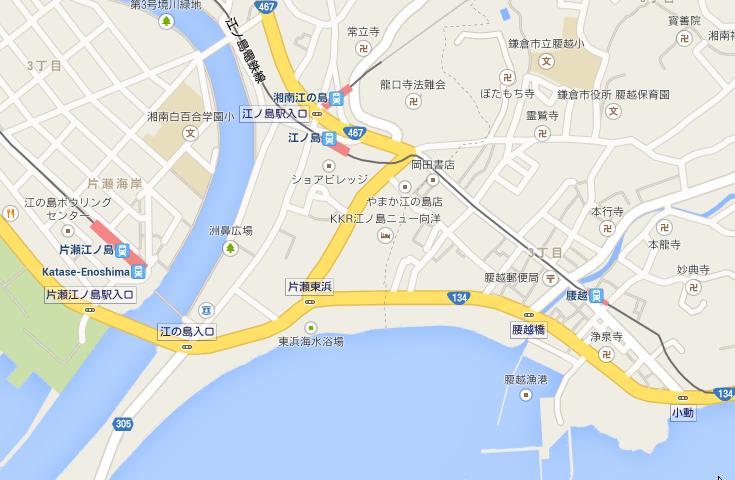 龍口寺付近の地図