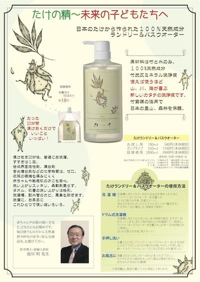 竹の精 チラシ表 20140630