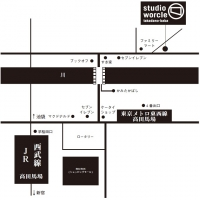 高田馬場マップ地図
