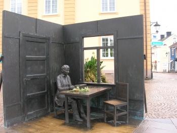 リンドグレーンの像