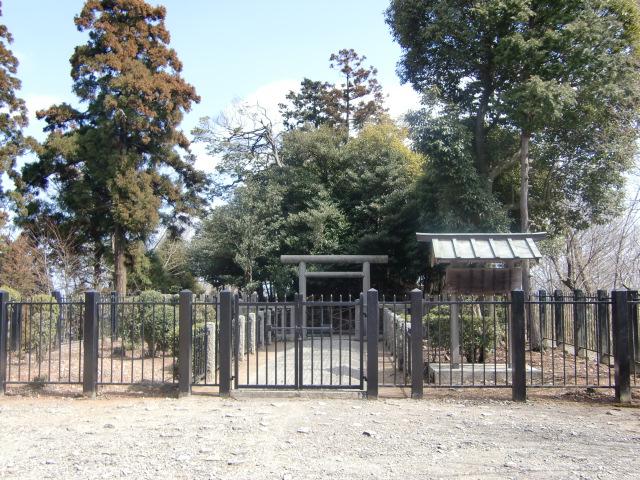 大津皇子の墓
