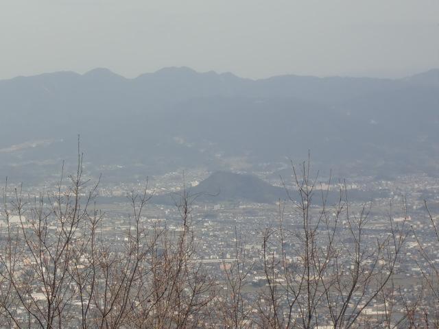 二上山からの眺め 奈良