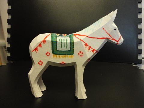 もう1頭の小さな馬④