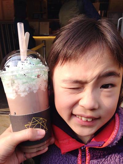 2韓国チョコミント
