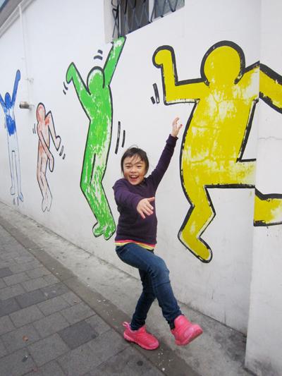 2韓国壁の絵