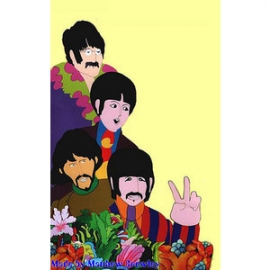 beatles cartoon yellow submarine