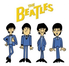 beatles cartoon