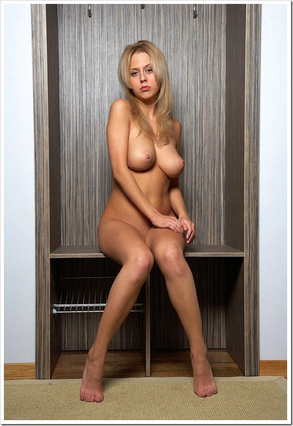 【金髪美人】お宝パツキン美女の全裸ヌード