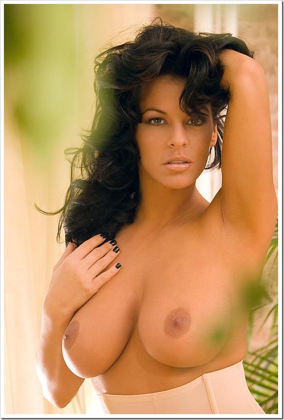 【黒髪外国美人】お宝パンストで全裸ヌード