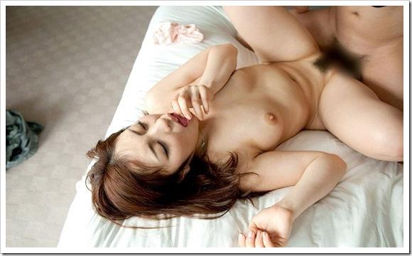 【アヘ顔・イキ顔】発情期微乳おっぱい女性