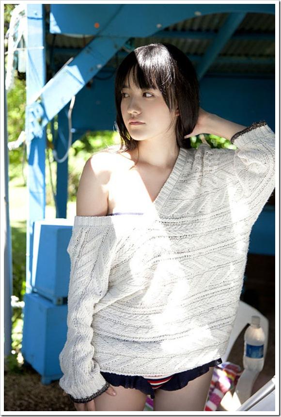 【小島藤子(グラビア)】お宝美乳ハミ乳おっぱい