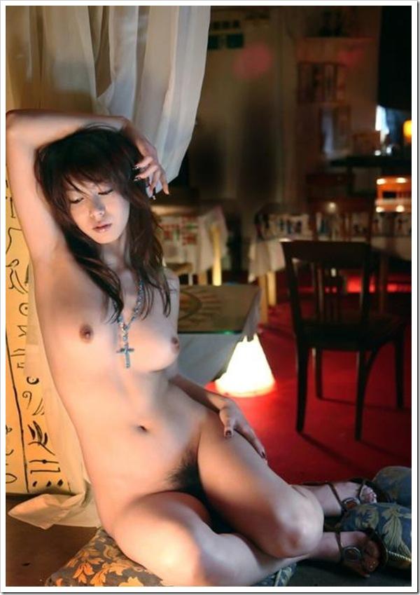 【ヘアヌード】綺麗なおっぱい美人ギャルの濃厚おまんこ