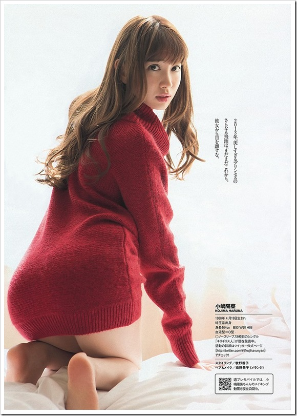 【小嶋陽菜(AKB48)】お宝美乳おっぱい