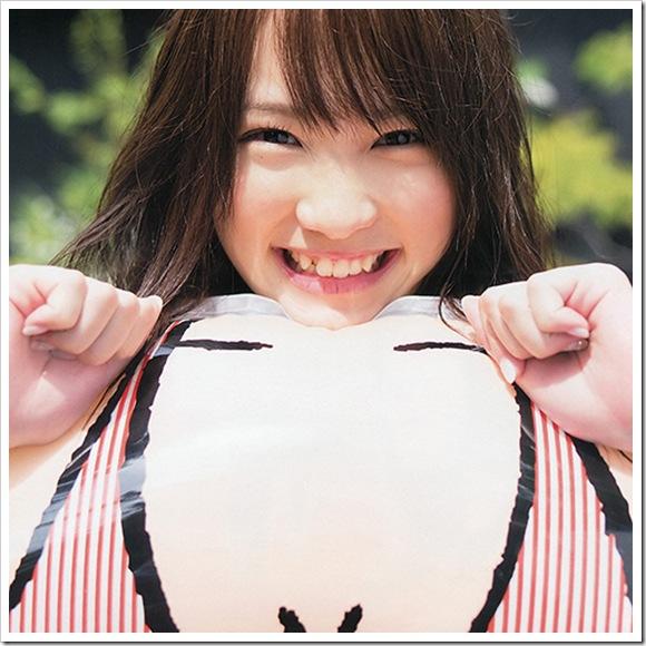 【川栄李奈(AKB48)】お宝ビキニ水着