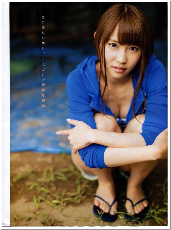 【永尾まりや(AKB48)】お宝ビキニで美乳おっぱい