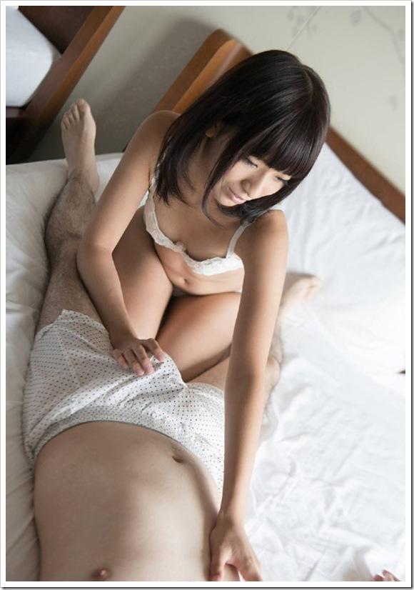【フェラチオ】美乳おっぱい彼女にSEX前