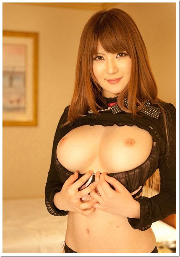 【Jカップ爆乳おっぱい】大好きな仁科百華の巨乳
