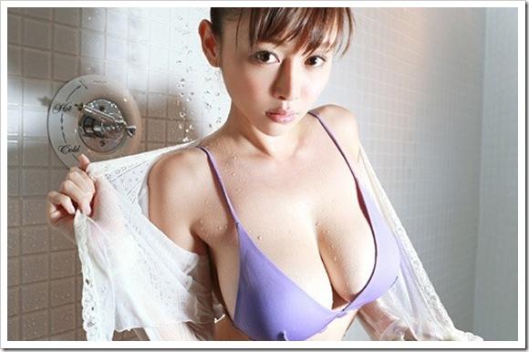 【杉本杏璃(グラビア)】お宝巨乳おっぱい全裸セミヌード