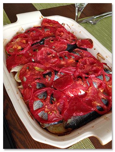 地中海沿岸のお料理