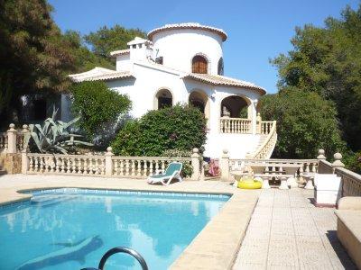 スペインの別荘