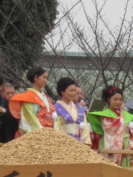平成26年の成田山不動尊節分祭
