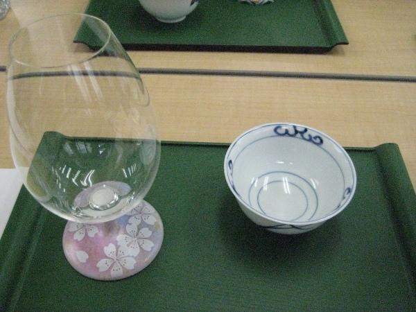 フードアナリストのいぶくろブログ-春の日本酒講座_酒器2種