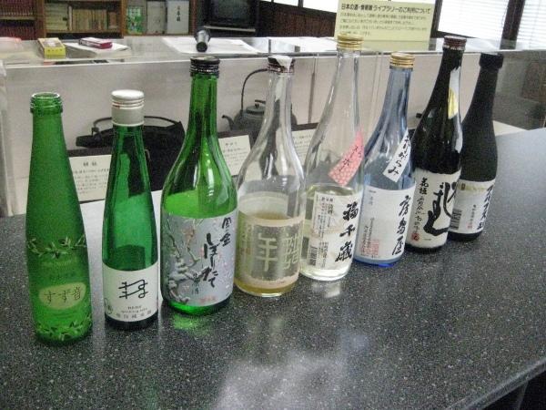 フードアナリストのいぶくろブログ-春の日本酒講座_地酒7種
