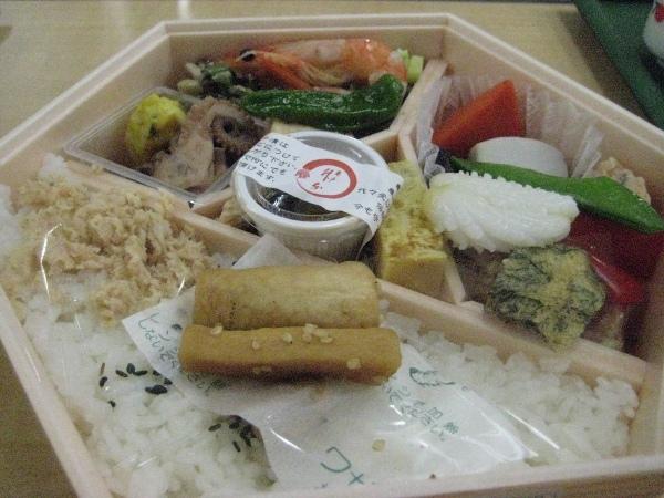 フードアナリストのいぶくろブログ-春の日本酒講座_お弁当
