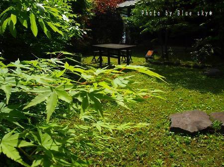 湯の丘中庭