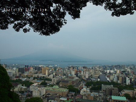 城山展望台から