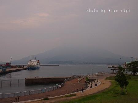 ドルフィンから桜島