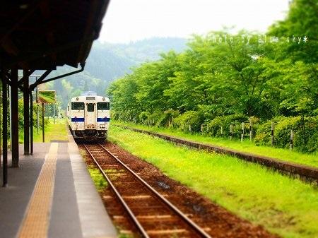7嘉例川電車