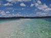 バラス(サンゴの欠片)島~今回はヒョウタンのようなカタチでした。