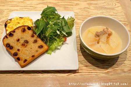 CafeCafe◇気まぐれサンドとスープ