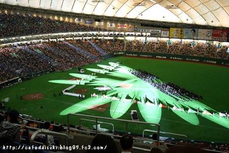 2014開幕戦(巨人×阪神)開幕セレモニー