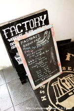 FACTORY◇看板